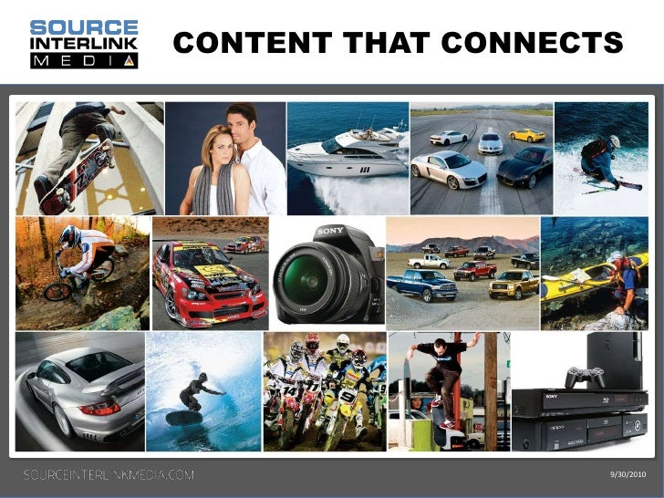 CONTENT THAT CONNECTS<br />9/30/2010<br />