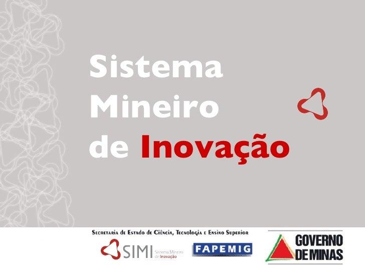 Sistema Mineiro  de  Inovação