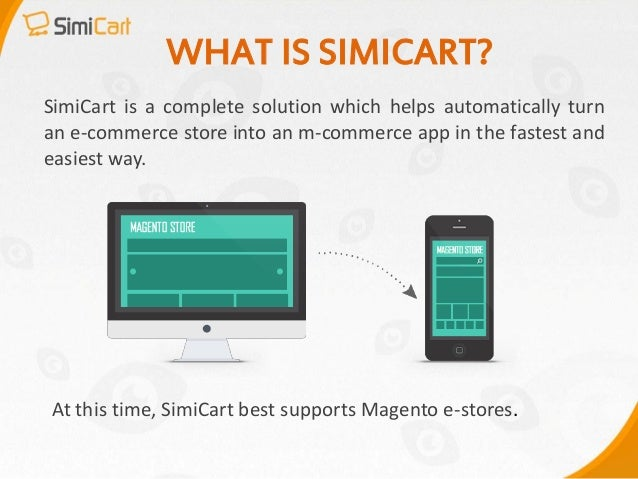 SimiCart- Magento mobile app Slide 3