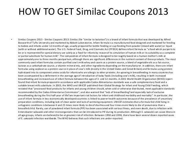 limited time offer 2 how to get similac coupons