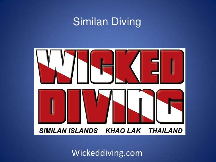 Similan Diving<br />Wickeddiving.com<br />