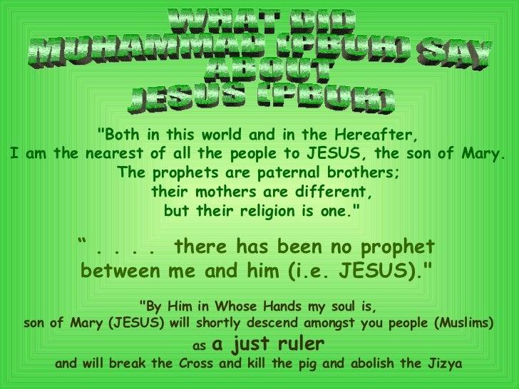 similarities between jesus and muhammad