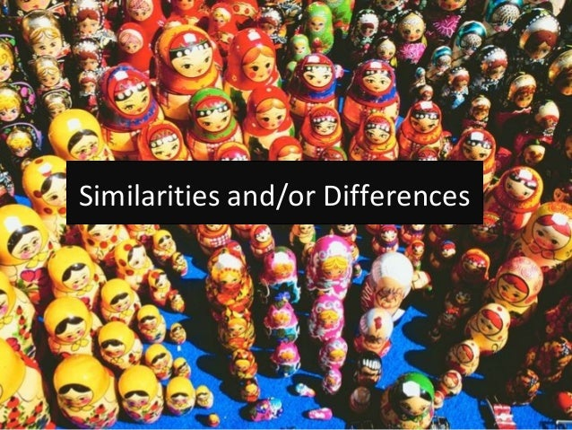 exploring the similarities and differences A data-driven approach to exploring similarities of tourist attractions  to examine  the similarities and difference between these attractions, their.