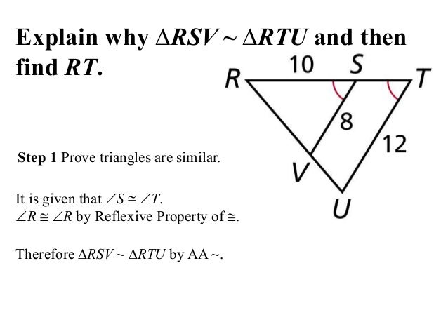 Sss Triangle Similarity