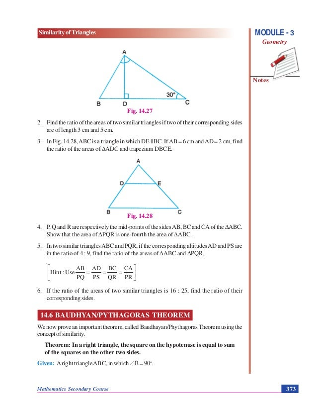 Similarity of triangles geometry 1426 16 ccuart Choice Image