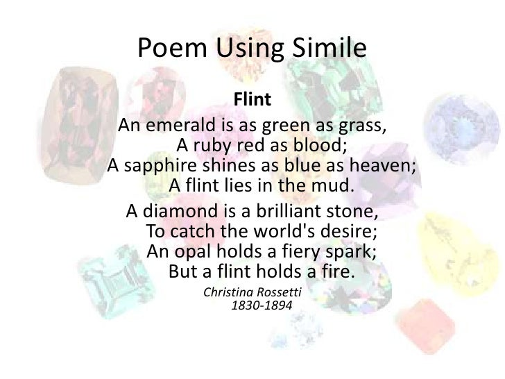 Collection for Simile Poems