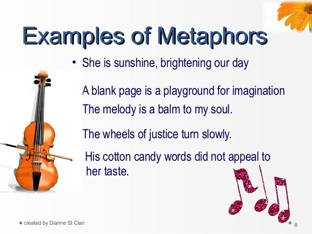 Simile metaphor1