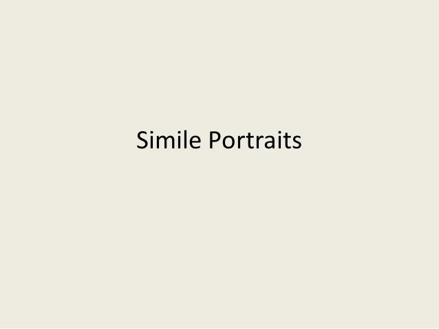 Simile Portraits