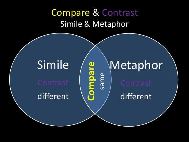 english compare contrast essay structure
