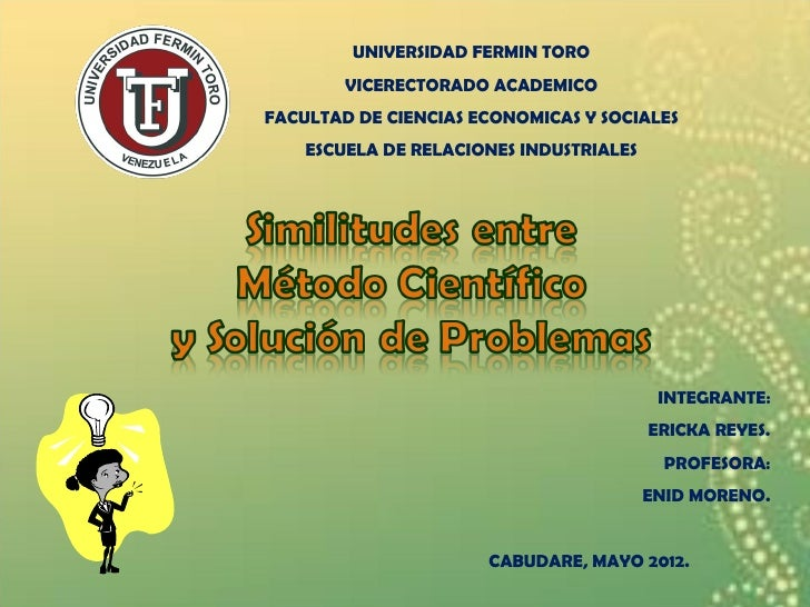 UNIVERSIDAD FERMIN TORO        VICERECTORADO ACADEMICOFACULTAD DE CIENCIAS ECONOMICAS Y SOCIALES    ESCUELA DE RELACIONES ...