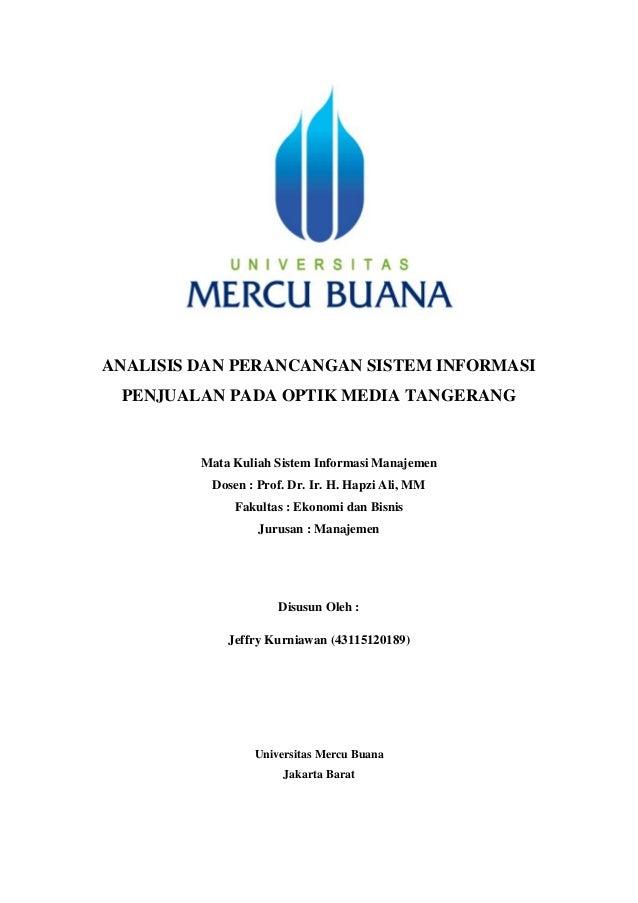 Simjeffry Kurniawanhapzi Alianalisis Dan Perancangan