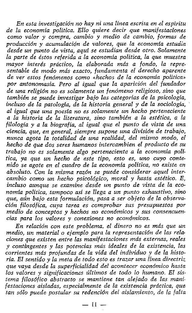 CAPITULO I VALOR Y DINERO