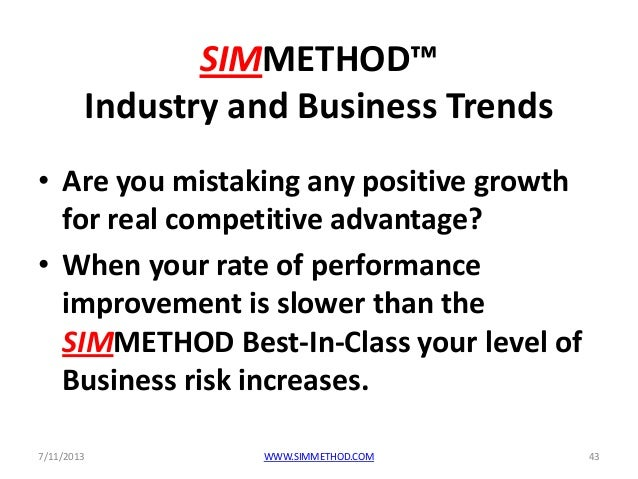 Simmethod ibm case study, was ibm 2013 performance predictable