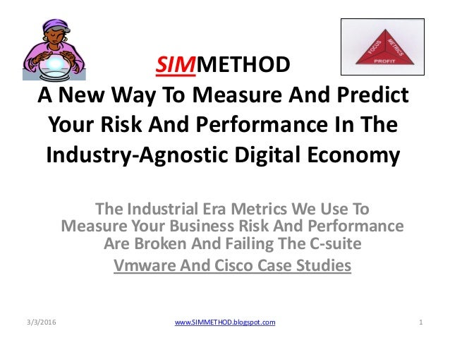 Simmethod why and benefits, vmware and cisco case studies