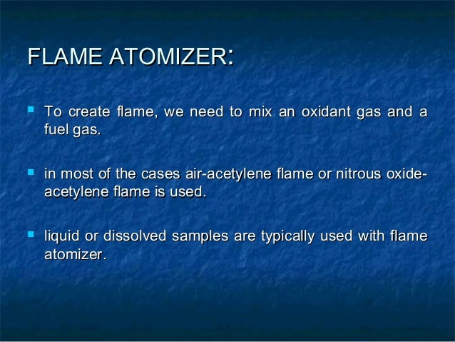 GRAPHITE TUBE ATOMIZER:   uses a graphite coated furnace to vaporize the sample.   ln GFAAS sample, samples are deposite...