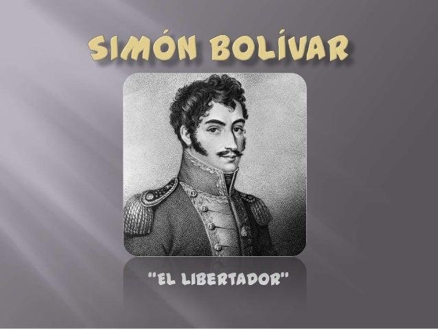 """""""El Libertador"""""""