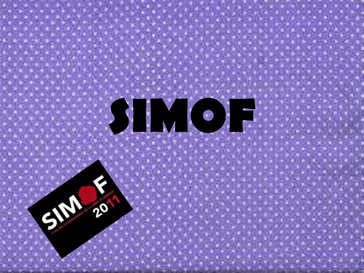 SIMOF<br />
