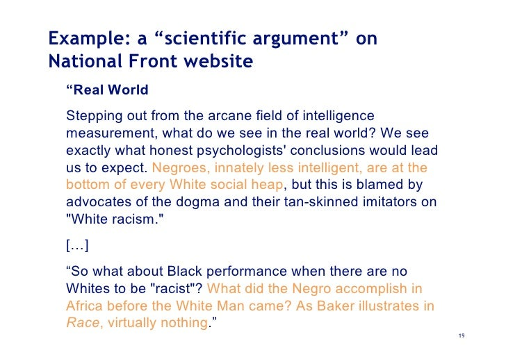 Undermining Mimetic Contagion On The Net Argumentation Tools As Crit