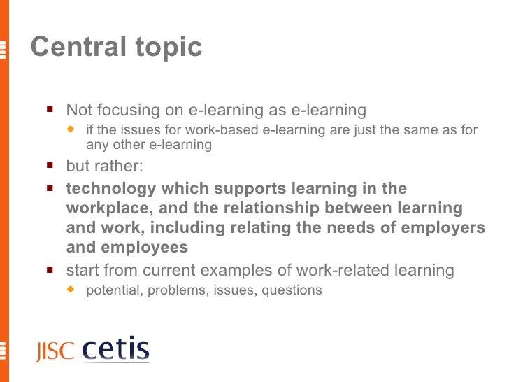 Technology for Work-Based Learning, 1 Slide 3