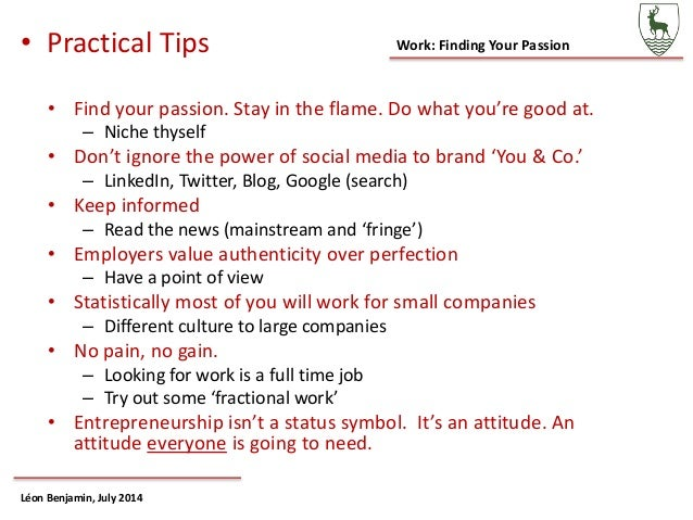 Choosing a career or finding your passion 10 work finding your passion ccuart Choice Image