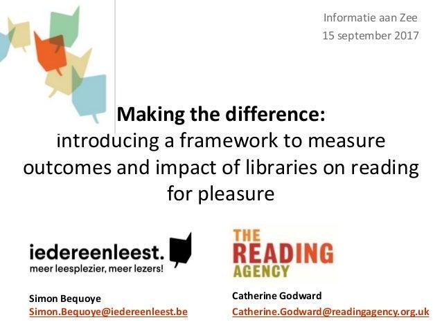 Impact of reading for pleasure