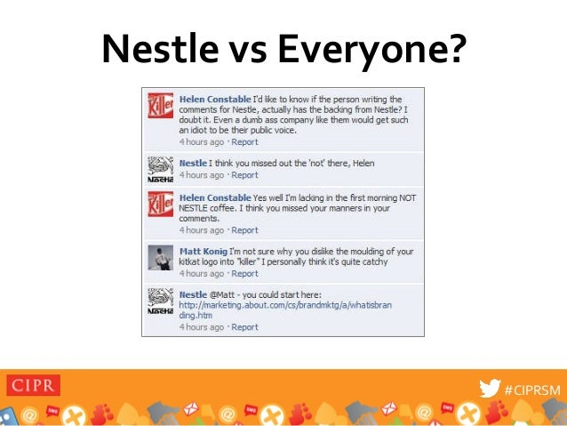 New Data on the Nestle's Social Media Crisis: Just How Scary is It?