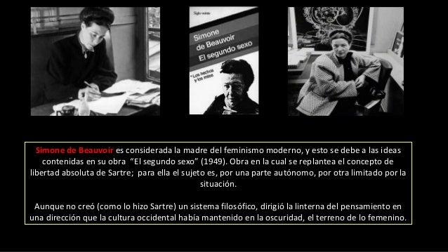 """Simone de Beauvoir es considerada la madre del feminismo moderno, y esto se debe a las ideas contenidas en su obra """"El seg..."""