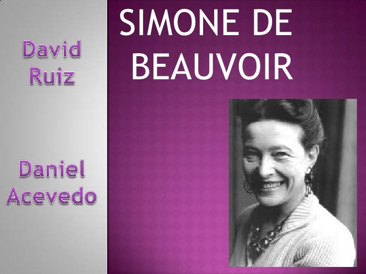 a comparison of simone de beauvoir and web dubois as existentialists Existentialism for dummies cheat sheet simone de beauvoir the existentialists take this as a valid and important starting point for genuinely human endeavors.