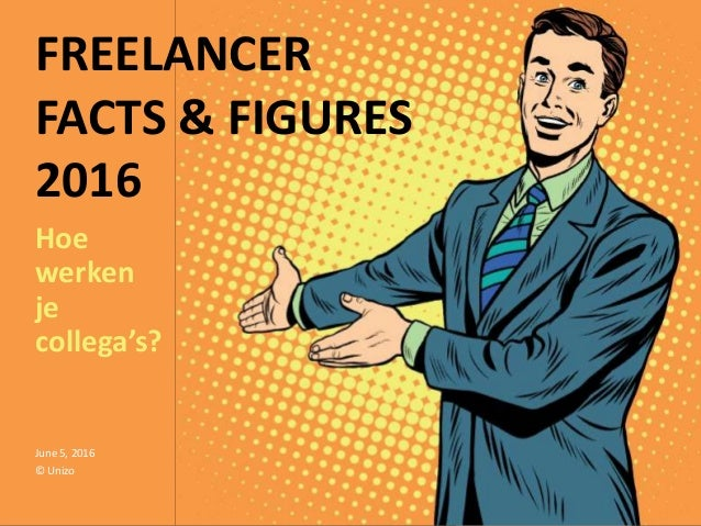 FREELANCER FACTS & FIGURES 2016 Hoe werken je collega's? June 5, 2016 © Unizo