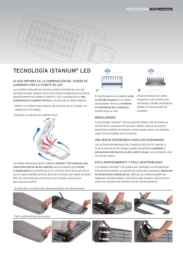 Simon Lighting Luminarias viales - Nath Istanium® LED - photo#27