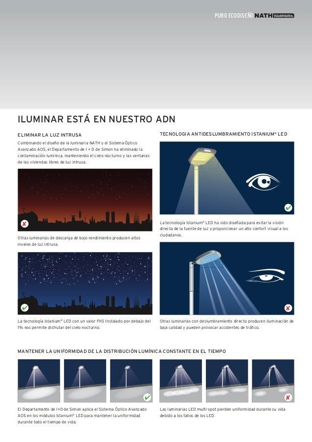 Simon Lighting Luminarias viales - Nath Istanium® LED - photo#43