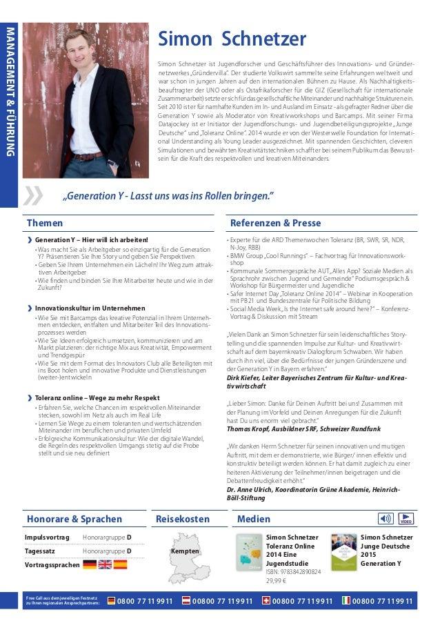 Themen Referenzen & Presse MedienHonorare & Sprachen Reisekosten 0800 77 11 9911 00800 77 11 9911 00800 77 11 991100800 77...