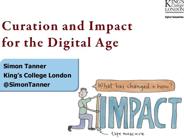 Simon TannerKing's College London@SimonTanner