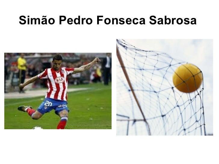 Simão Pedro Fonseca Sabrosa