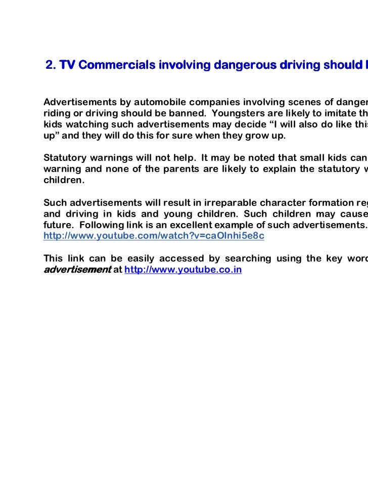 tv commercial essay Essays - largest database of quality sample essays and research papers on tv commercial analysis.