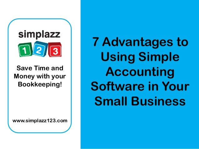 Accounts software