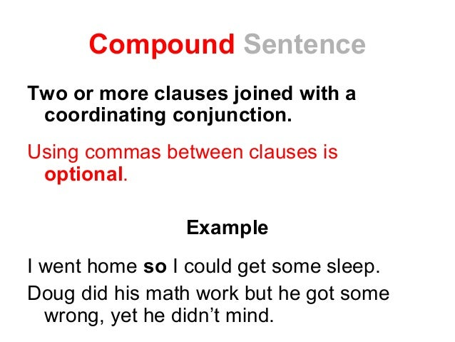 subordinate conjunctions worksheet
