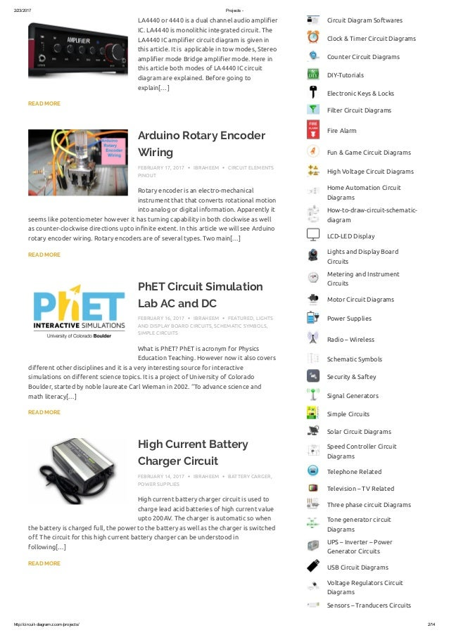 Simple Electric Circuit Projects - Merzie.net