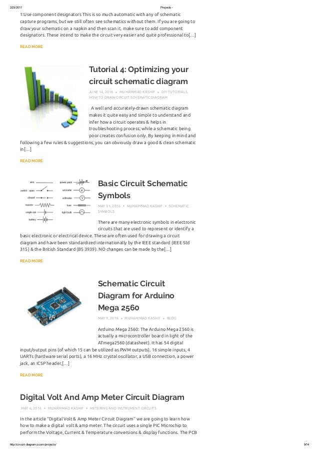 Simple Circuit Schematic - Wiring Diagrams Schematics