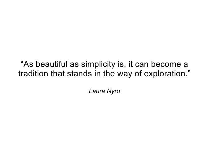 Simplicity Elegance Correctness