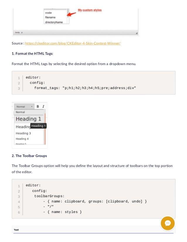 TYPO3 + CKEditor: Heaven for TYPO3 Developer & Editor
