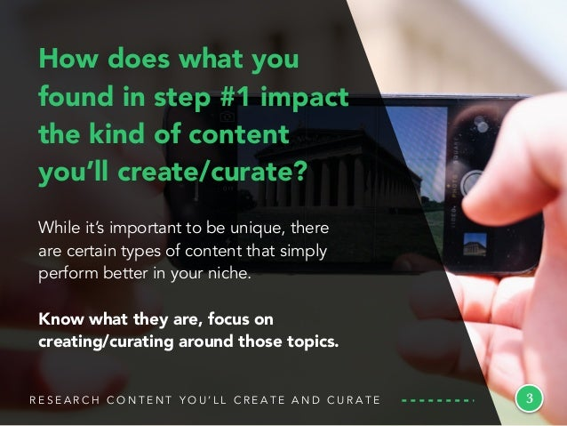 While it's important to be unique, there are certain types of content that simply perform better in your niche. Know what ...