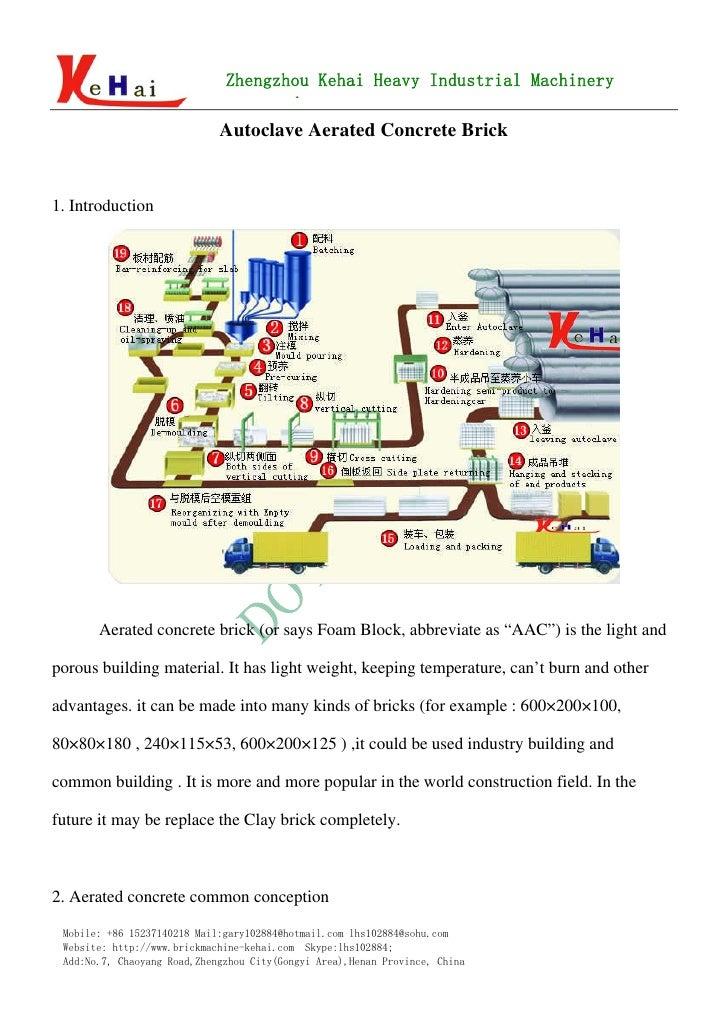 autoclaved aerated concrete seminar pdf