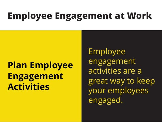 Simple And Effective Employee Engagement Ideas