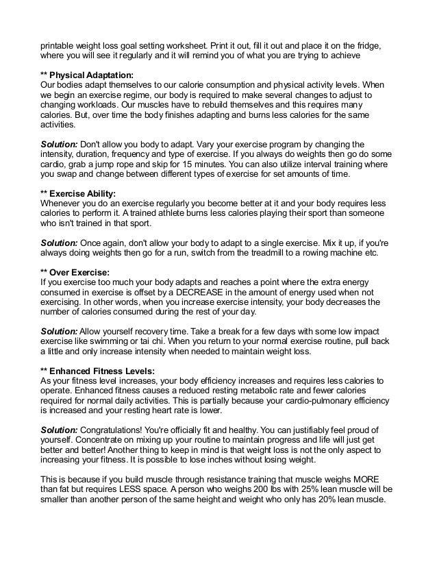 weight loss essay intro