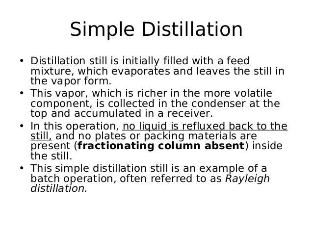 simple distillation vs fractional distillation pdf