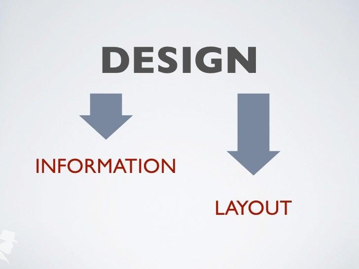 DESIGNINFORMATION              LAYOUT