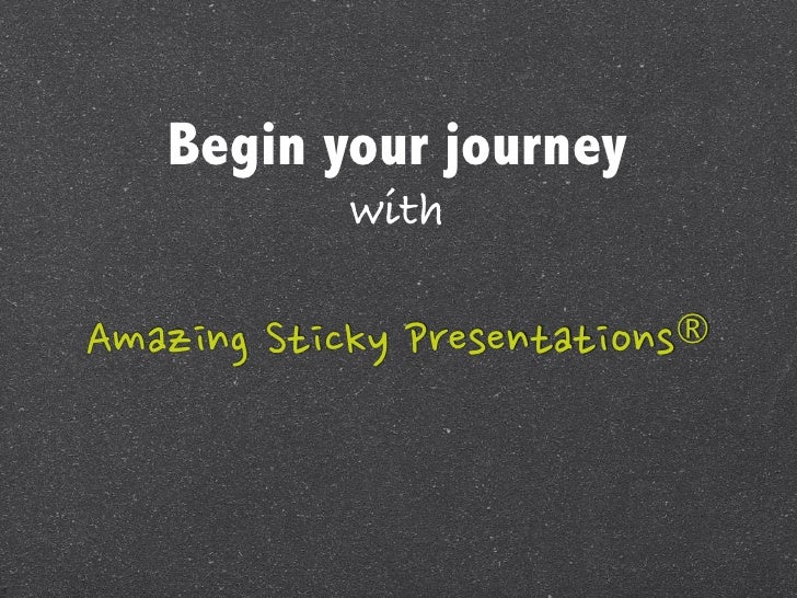 Begin your journey                                        withAmazing