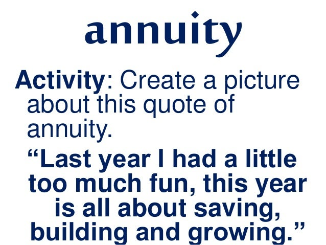 Annuity Quotes Pleasing Simple Annuity