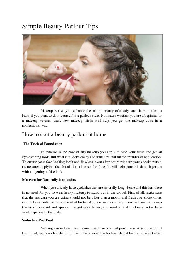 Simple beauty parlour tips 1 638gcb1464159043 simple beauty parlour tips makeup is a way to enhance the natural beauty of a lady solutioingenieria Images